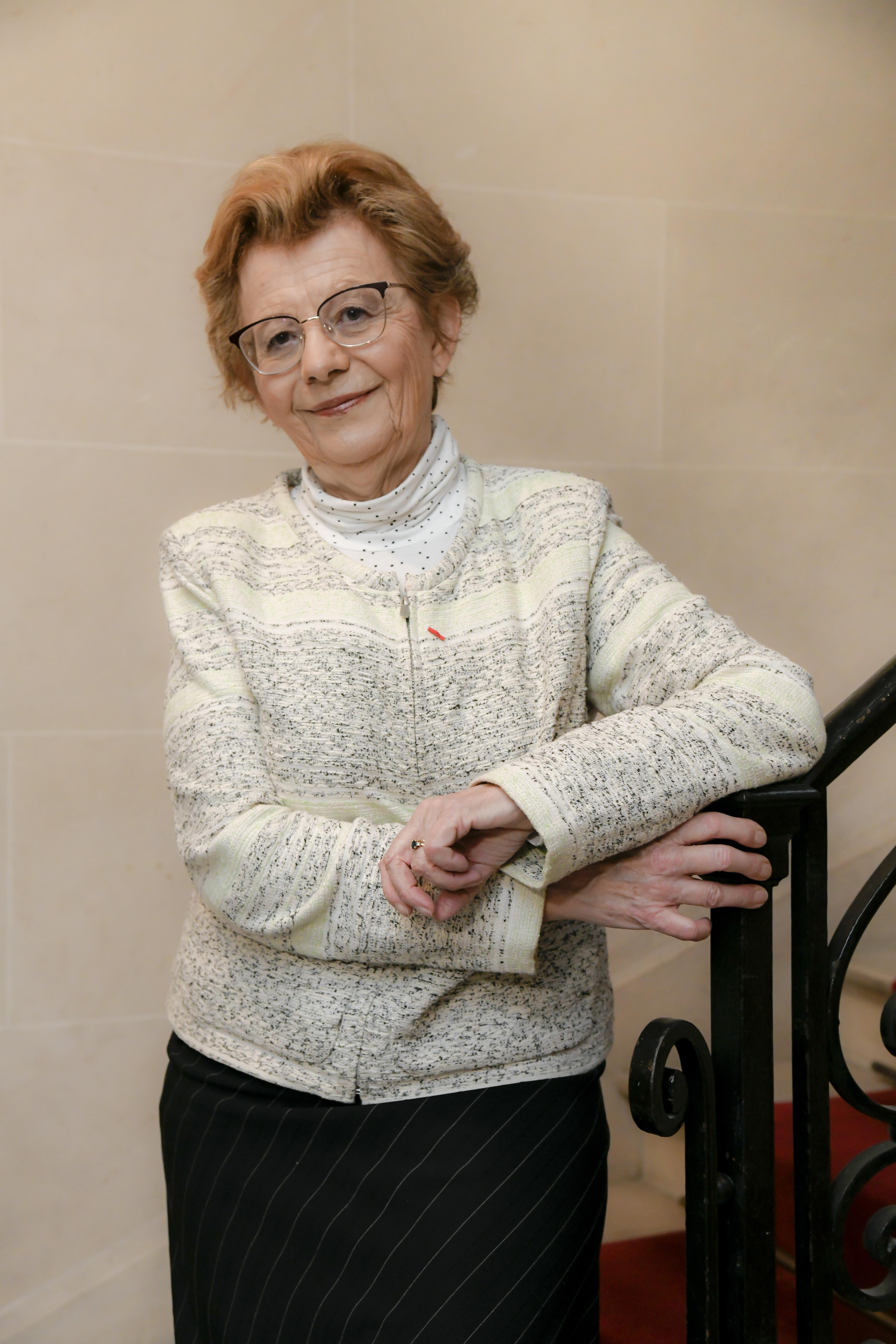 Présidente de l'ANRH, Annie PEREZ-VIEU