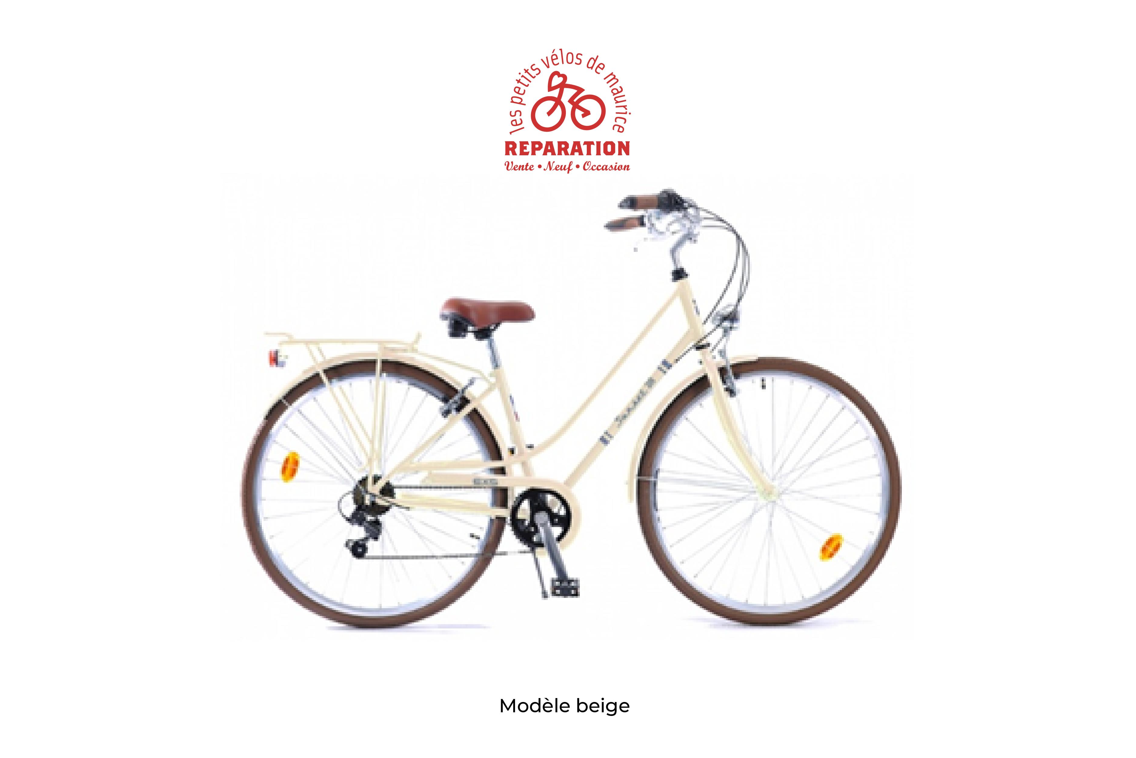 Velo EXS SUNSET beige Les Petits Vélos de Maurice