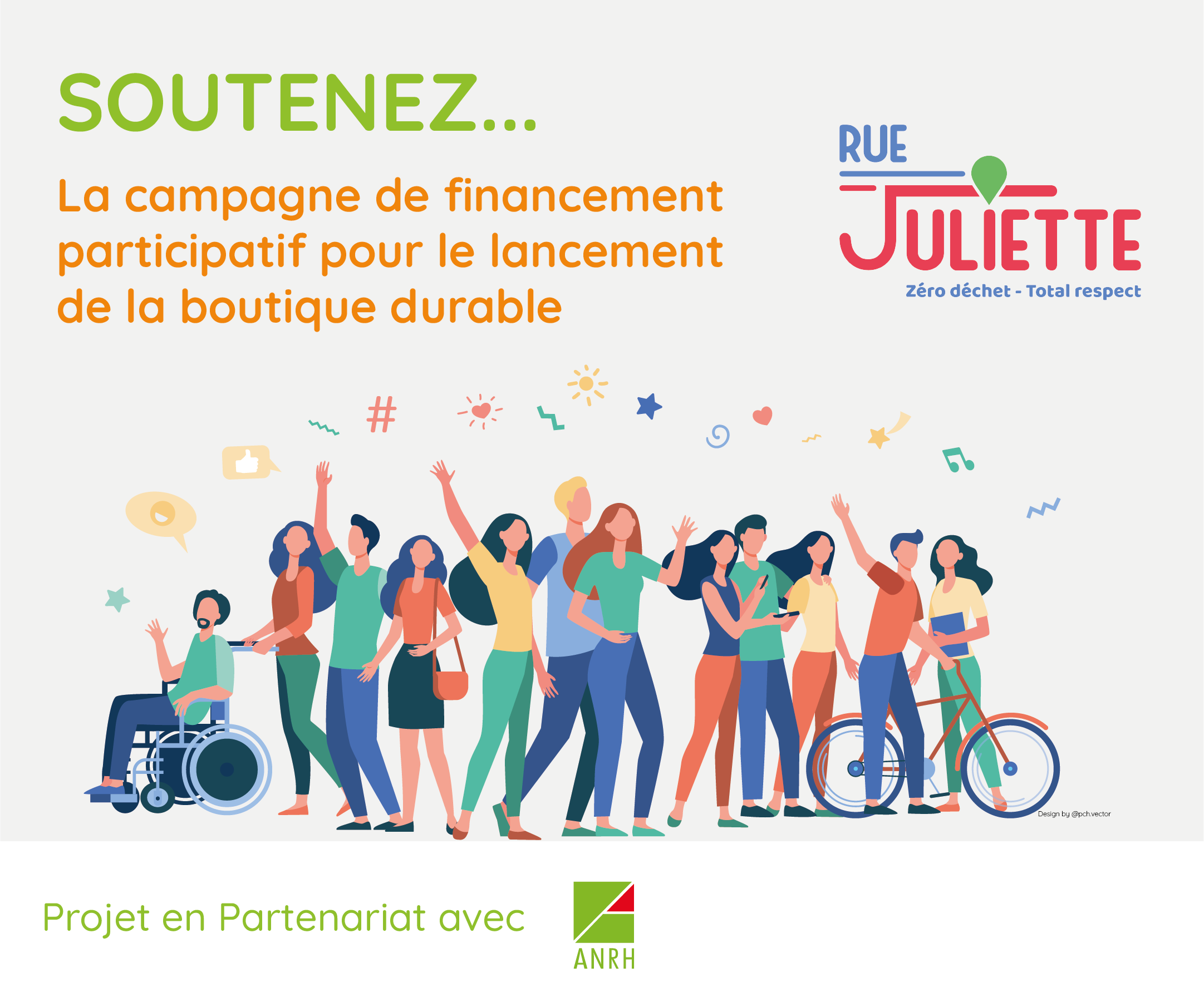 Campagne crowdfunding Rue Juliette