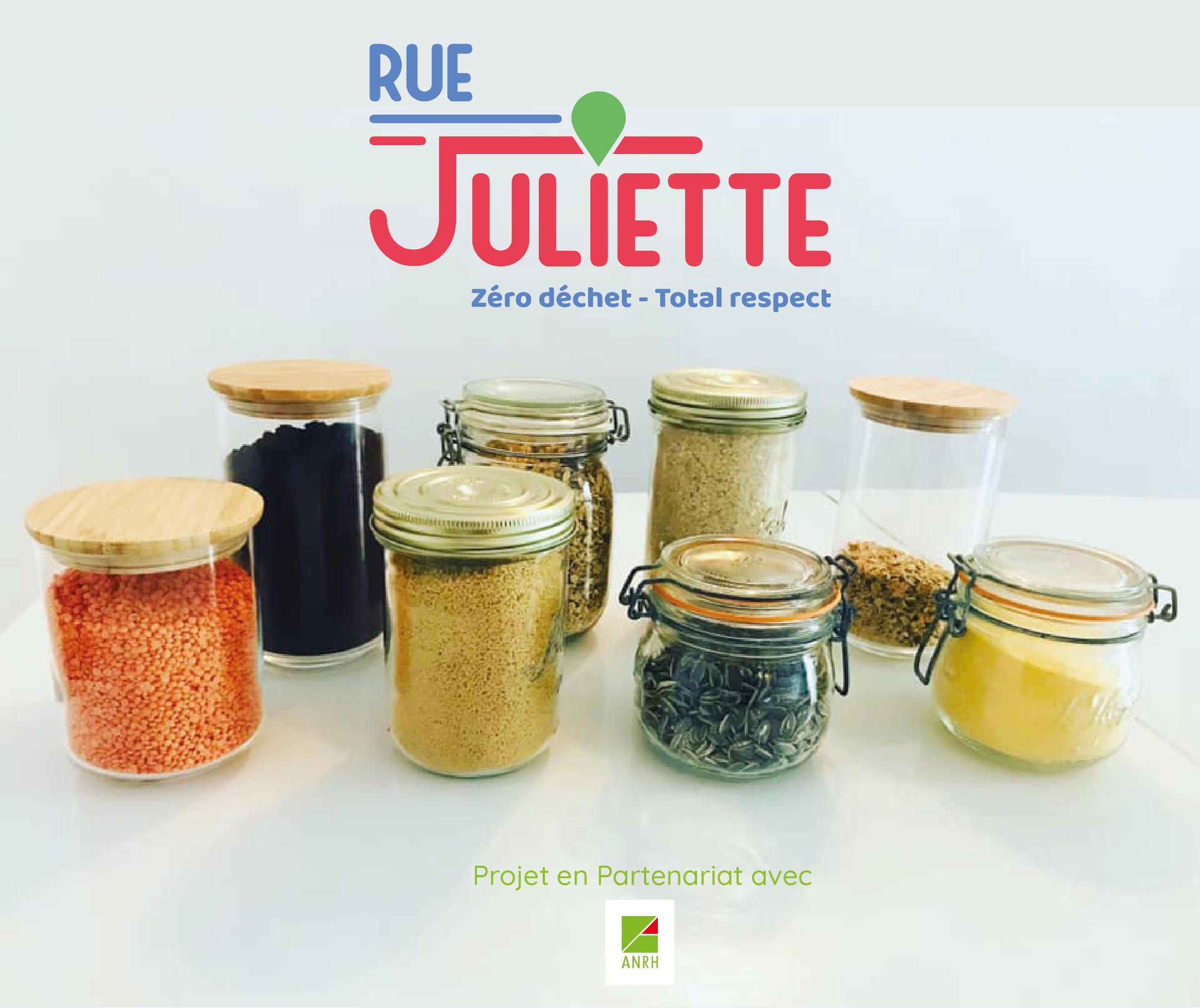 Partenariat ANRH et Rue Juliette