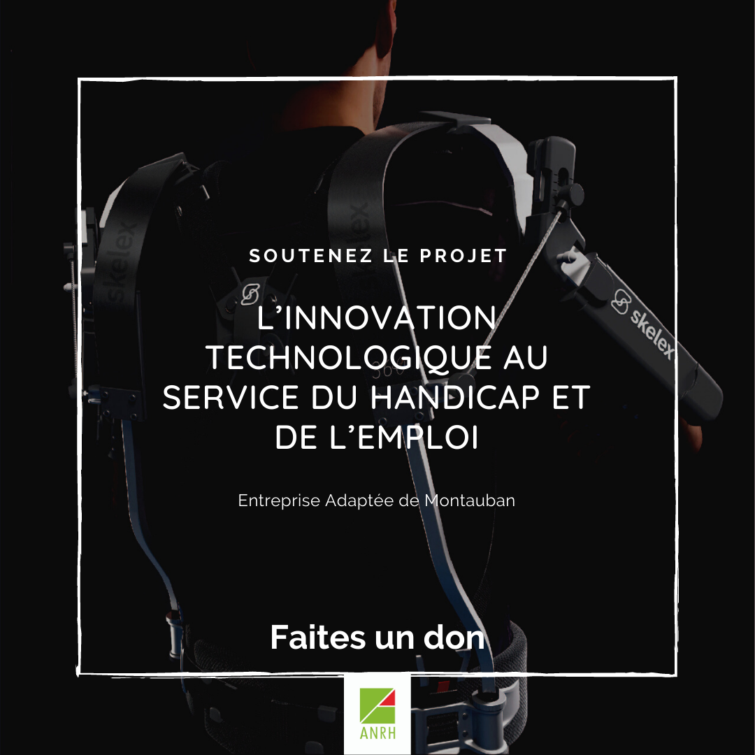 Projet exosquelette EA de Montauban