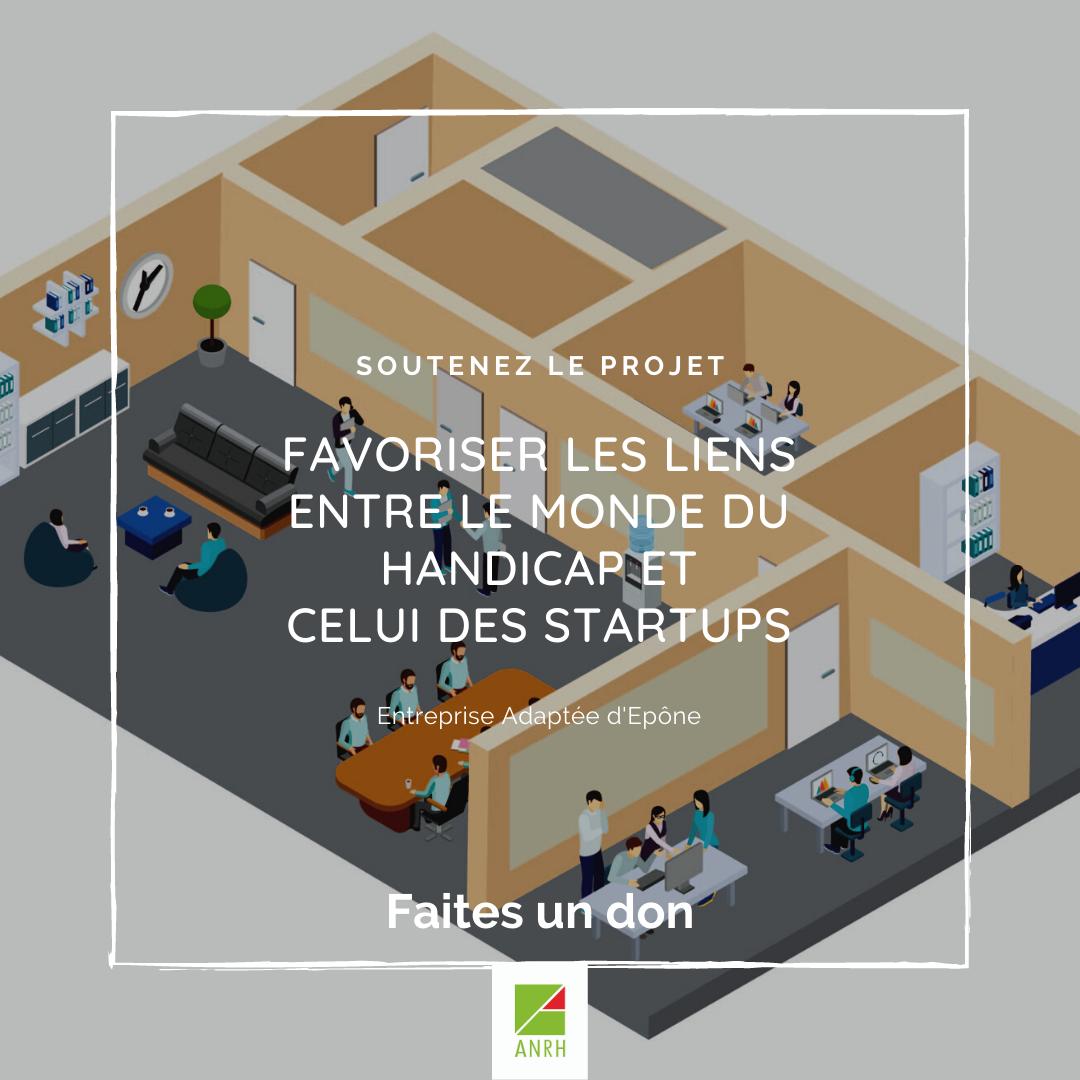 Projet incubateur startup à l'EA d'Epône