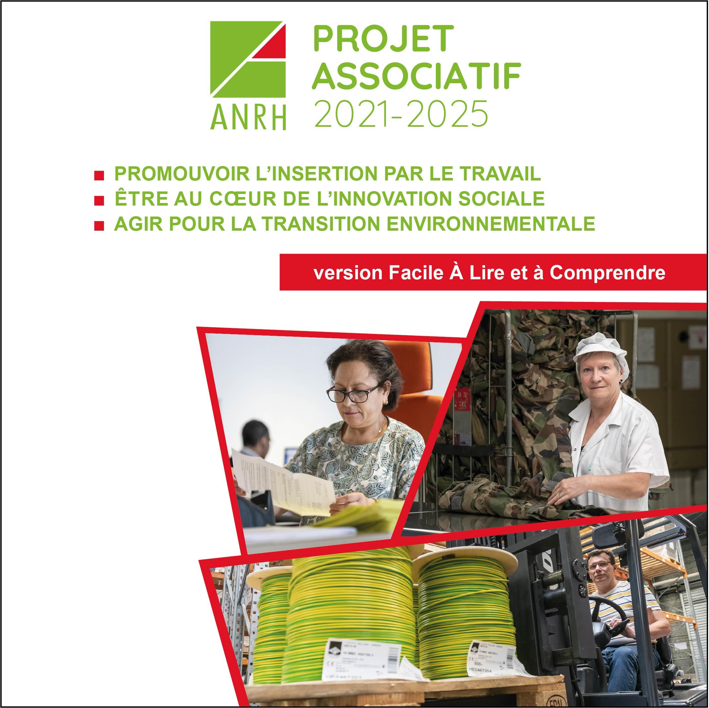 Nouveau projet associatif ANRH version Facile à Lire Facile à Comprendre