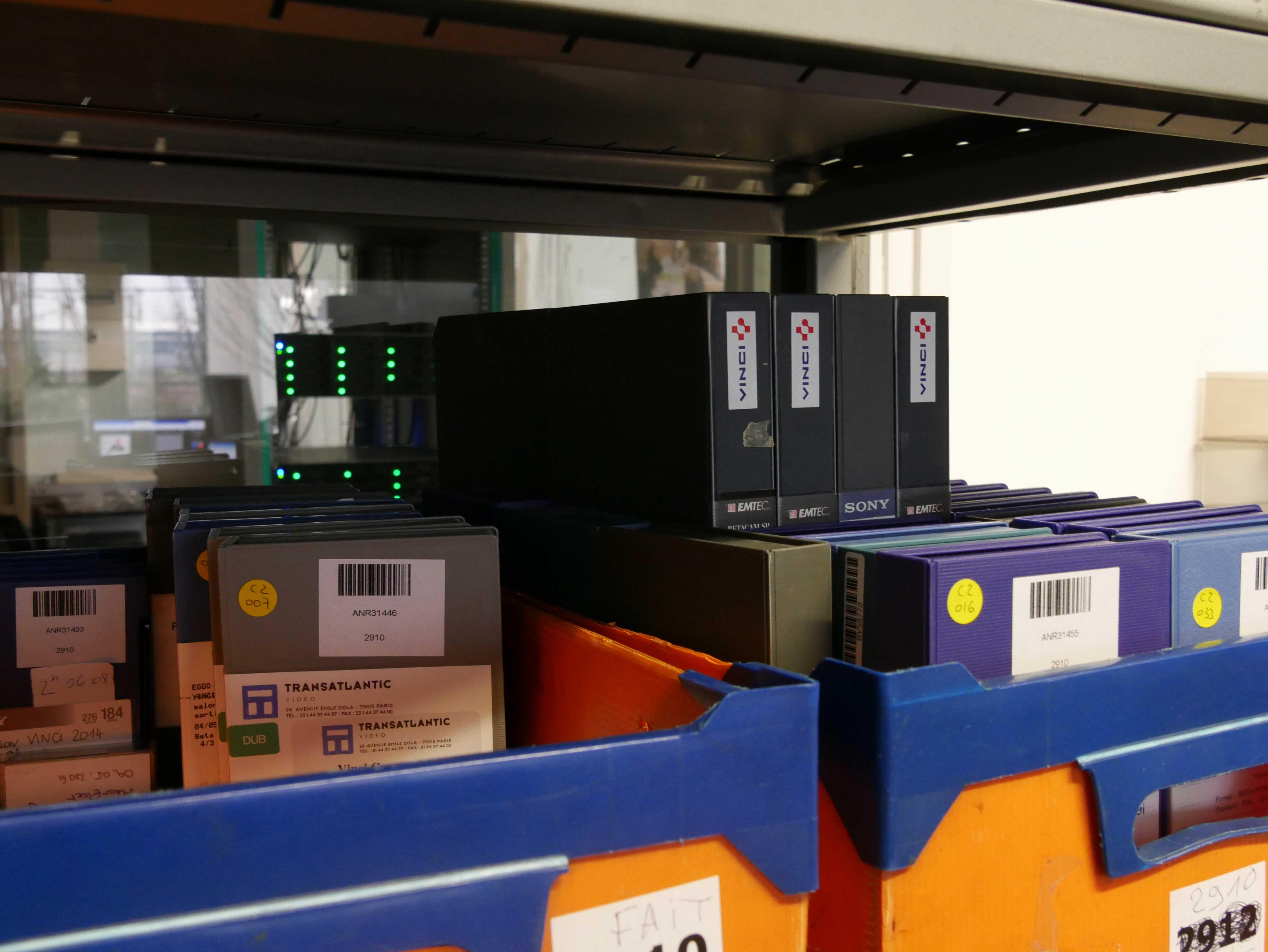 Cassettes pour numérisation