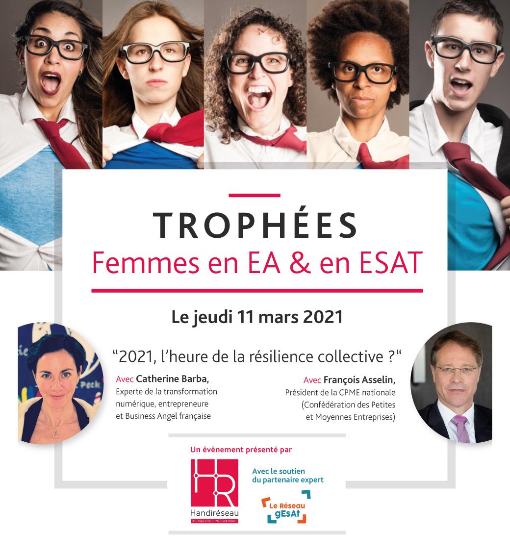Femmes en EA et ESAT 2021