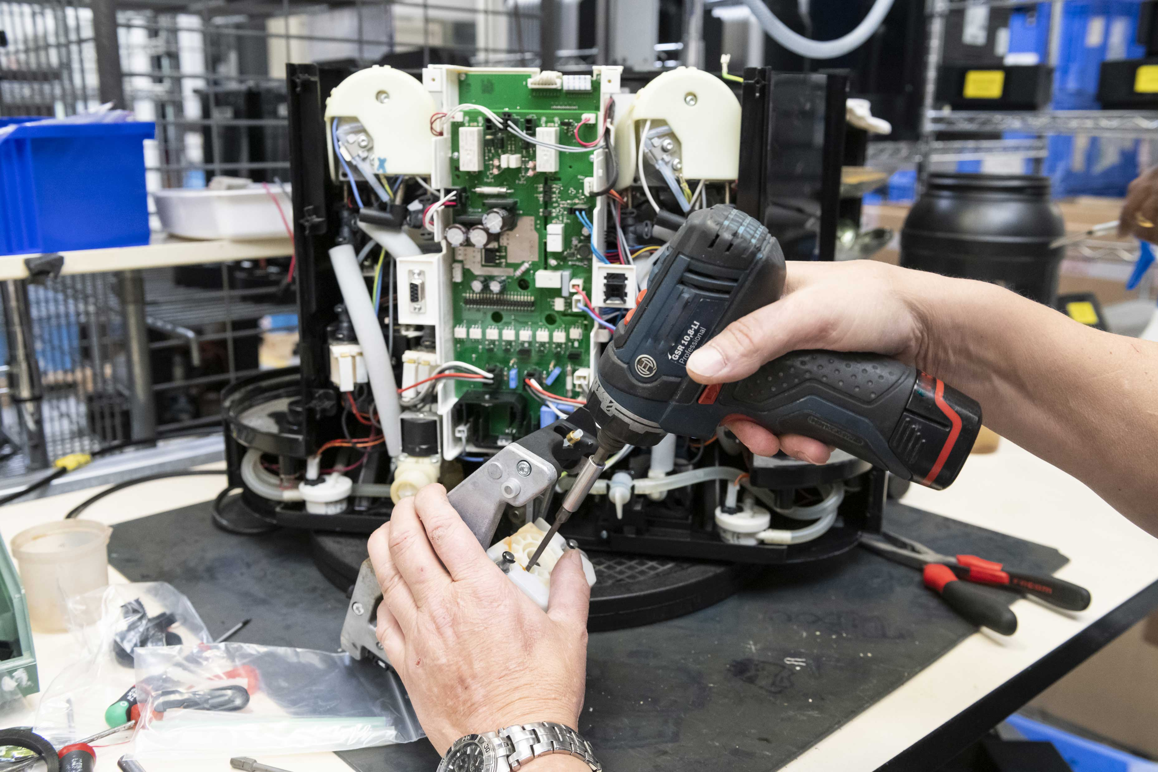 SAV Entreprise Adaptée  ANRH - Réparation machine à café