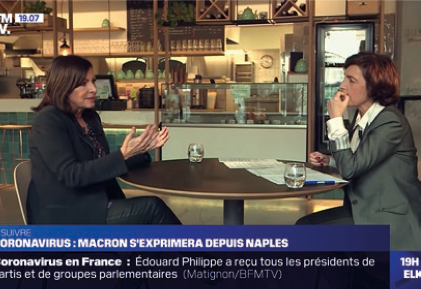 Interview BFMTV Anne Hidalgo au PPM