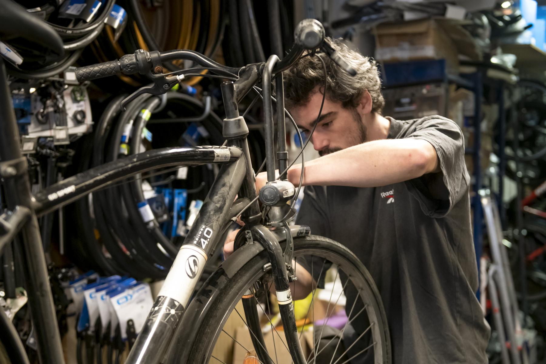 ANRH Paris Les petits vélos de Maurice