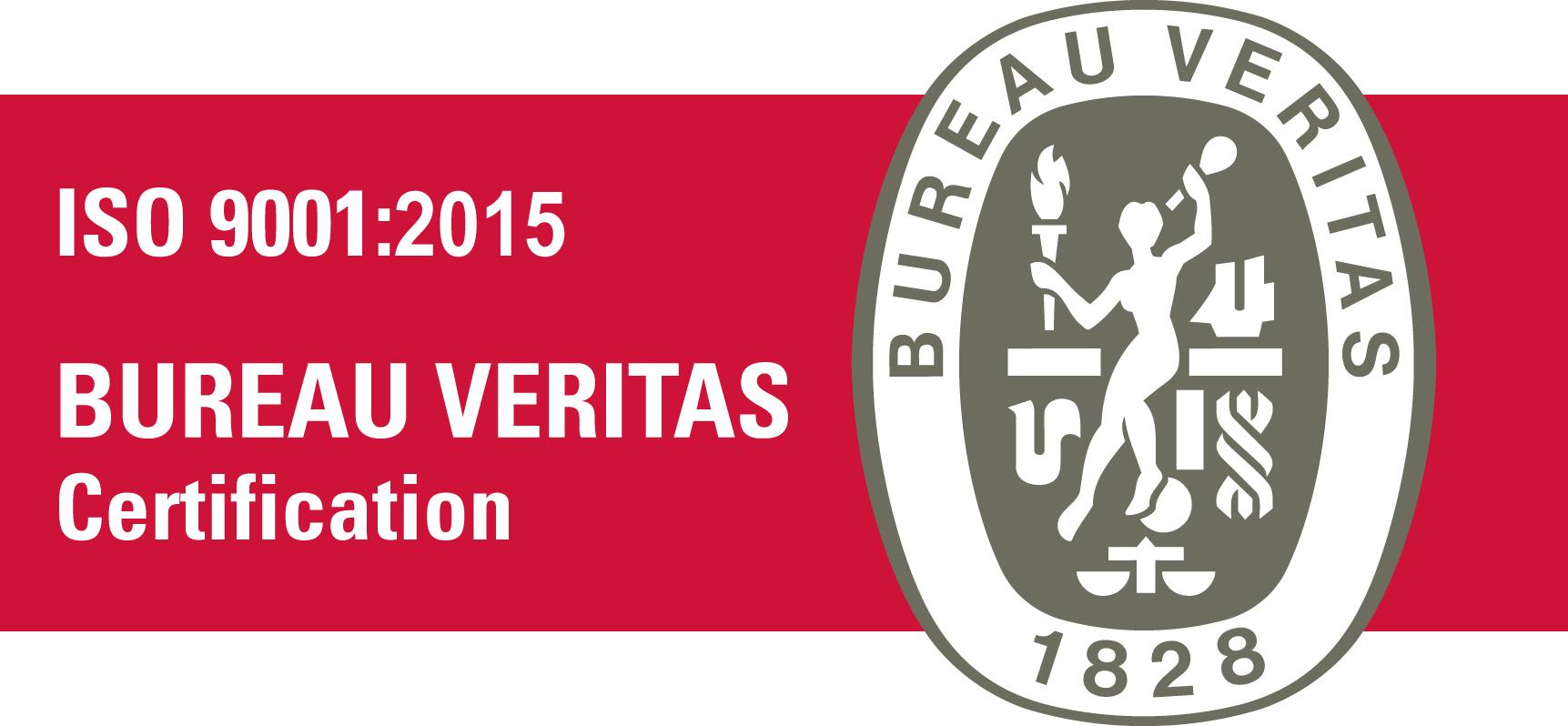 BV Certification ISO 9001