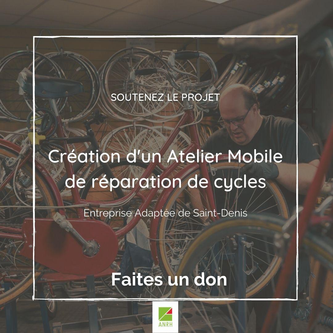 Appel au Don_Création d'un Atelier Mobile Réparation cycles