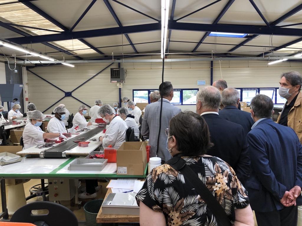 Visite Rotary Club à l'EA d'Orléans3